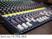 Купить «Sound mixer», фото № 9793363, снято 20 января 2018 г. (c) PantherMedia / Фотобанк Лори