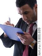Купить «Portrait of a young business man», фото № 9800699, снято 7 августа 2020 г. (c) PantherMedia / Фотобанк Лори
