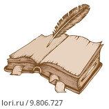 Купить «Old book theme image 1», иллюстрация № 9806727 (c) PantherMedia / Фотобанк Лори