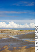 Купить «Chain of lagoons, island Djerba, Tunisia, North Africa  », фото № 9816603, снято 26 марта 2019 г. (c) PantherMedia / Фотобанк Лори