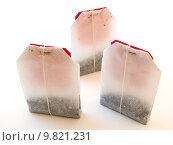 Купить «tea bag», фото № 9821231, снято 22 мая 2019 г. (c) PantherMedia / Фотобанк Лори