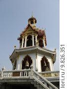 Купить «tower temple thailand thai bangkok», фото № 9826351, снято 23 апреля 2019 г. (c) PantherMedia / Фотобанк Лори
