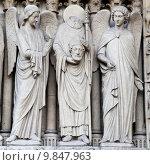 Купить «Notre Dame Cathedral - Paris», фото № 9847963, снято 19 июня 2019 г. (c) PantherMedia / Фотобанк Лори