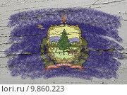 Купить «flag of US state of vermont on grunge wooden texture precise pai», иллюстрация № 9860223 (c) PantherMedia / Фотобанк Лори