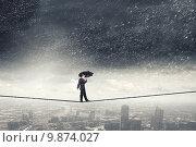 Купить «Pessimist in business», фото № 9874027, снято 24 февраля 2011 г. (c) Sergey Nivens / Фотобанк Лори
