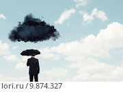 Купить «Pessimist in business», фото № 9874327, снято 17 марта 2014 г. (c) Sergey Nivens / Фотобанк Лори