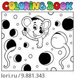 Купить «Coloring book with mouse 2», иллюстрация № 9881343 (c) PantherMedia / Фотобанк Лори