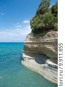 Купить «Пляж Сидари, Корфу», фото № 9911855, снято 8 августа 2015 г. (c) Наталья Быстрая / Фотобанк Лори