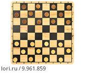 Купить «checkers game», фото № 9961859, снято 21 января 2019 г. (c) PantherMedia / Фотобанк Лори