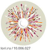Купить «Circle restaurant background with cutlery colors», иллюстрация № 10006027 (c) PantherMedia / Фотобанк Лори