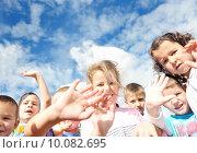 Купить «preschool  kids», фото № 10082695, снято 25 мая 2019 г. (c) PantherMedia / Фотобанк Лори