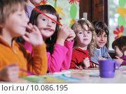 Купить «preschool  kids», фото № 10086195, снято 25 мая 2019 г. (c) PantherMedia / Фотобанк Лори
