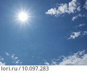 Купить «Blue sky», фото № 10097283, снято 24 апреля 2019 г. (c) PantherMedia / Фотобанк Лори