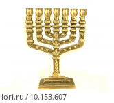 Купить «golden colour jewish chandelier menorah», фото № 10153607, снято 18 июня 2018 г. (c) PantherMedia / Фотобанк Лори