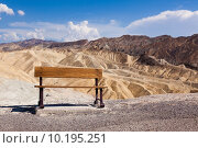 Купить «Eroded Ridges At Zabriskie Point, Death Valley National Park, Ca», фото № 10195251, снято 18 января 2019 г. (c) PantherMedia / Фотобанк Лори
