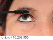 Купить «woman close up face eye», фото № 10208955, снято 16 июля 2019 г. (c) PantherMedia / Фотобанк Лори