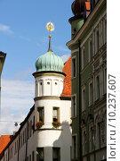 Купить «Historic building in Neuburg an der Donau», фото № 10237607, снято 20 мая 2019 г. (c) PantherMedia / Фотобанк Лори
