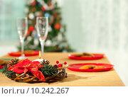 Купить «Christmas dinner», фото № 10242267, снято 22 мая 2018 г. (c) PantherMedia / Фотобанк Лори