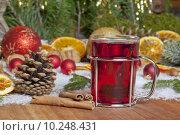 Купить «christmas wine tea punch advent», фото № 10248431, снято 18 октября 2019 г. (c) PantherMedia / Фотобанк Лори