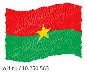 flag burkina faso ouagadougou image. Стоковое фото, фотограф Andreas Ludwig / PantherMedia / Фотобанк Лори
