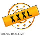 Купить «Stamp - XXXL», фото № 10263727, снято 16 октября 2018 г. (c) PantherMedia / Фотобанк Лори