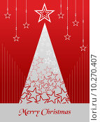 Купить «Christmas postage card background», иллюстрация № 10270407 (c) PantherMedia / Фотобанк Лори