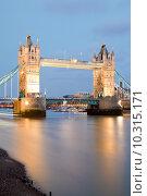 Купить «London Tower Bridge», фото № 10315171, снято 19 ноября 2018 г. (c) PantherMedia / Фотобанк Лори