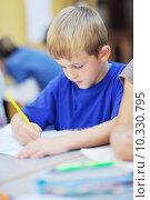 Купить «preschool  kids», фото № 10330795, снято 25 мая 2019 г. (c) PantherMedia / Фотобанк Лори