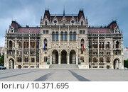 Купить «House of Parliament, Budapest», фото № 10371695, снято 16 февраля 2019 г. (c) PantherMedia / Фотобанк Лори