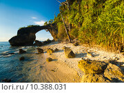 Купить «Natural Bridge Landmark Beach High Tide Bushes», фото № 10388031, снято 15 июля 2018 г. (c) PantherMedia / Фотобанк Лори