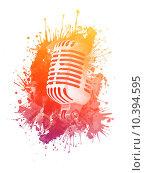 Купить «Old Microphone», иллюстрация № 10394595 (c) PantherMedia / Фотобанк Лори