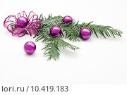 Купить «pattern decoration christmas xmas shrill», фото № 10419183, снято 18 апреля 2019 г. (c) PantherMedia / Фотобанк Лори