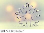 Купить «Ethereal snowflake Seasonal background», фото № 10453507, снято 24 января 2019 г. (c) PantherMedia / Фотобанк Лори