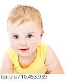 Купить «Baby face portrait», фото № 10453939, снято 24 марта 2019 г. (c) PantherMedia / Фотобанк Лори