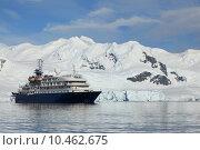 Купить «winter cruise arctic polar cruiser», фото № 10462675, снято 12 декабря 2017 г. (c) PantherMedia / Фотобанк Лори