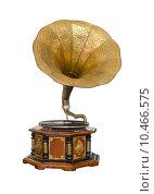 Купить «Vintage Gramophone », фото № 10466575, снято 19 октября 2018 г. (c) PantherMedia / Фотобанк Лори