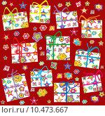 Купить «Wrapping paper for Christmas», иллюстрация № 10473667 (c) PantherMedia / Фотобанк Лори
