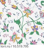 Купить «Flower seamless», иллюстрация № 10519795 (c) PantherMedia / Фотобанк Лори