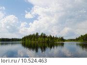 На озере. Стоковое фото, фотограф Виталий Пушкарев / Фотобанк Лори