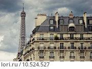 Купить «Paris Skyline», фото № 10524527, снято 16 октября 2019 г. (c) PantherMedia / Фотобанк Лори