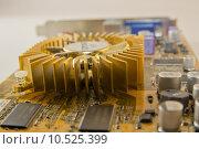 Купить «circuit resistors capacitor graphics card», фото № 10525399, снято 24 апреля 2018 г. (c) PantherMedia / Фотобанк Лори