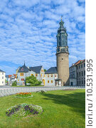 Купить «City Castle of Weimar in Germany », фото № 10531995, снято 16 февраля 2019 г. (c) PantherMedia / Фотобанк Лори