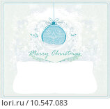 Купить «Christmas Framework style card», иллюстрация № 10547083 (c) PantherMedia / Фотобанк Лори