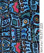 Купить «Hawaiian batik fabric background», фото № 10577223, снято 19 марта 2019 г. (c) PantherMedia / Фотобанк Лори