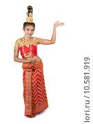 Купить «Thai dancer», фото № 10581919, снято 20 ноября 2017 г. (c) PantherMedia / Фотобанк Лори