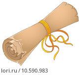 Купить «Old scroll theme image 4», иллюстрация № 10590983 (c) PantherMedia / Фотобанк Лори