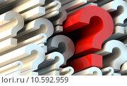 Купить «Question marks», иллюстрация № 10592959 (c) PantherMedia / Фотобанк Лори