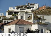 Купить «houses roofs algarve tenements lagos», фото № 10648207, снято 18 июня 2019 г. (c) PantherMedia / Фотобанк Лори