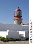 Купить «tower portugal lighthouse algarve beacon», фото № 10652327, снято 19 июня 2019 г. (c) PantherMedia / Фотобанк Лори