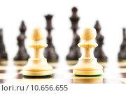 Купить «Chess Challenge», фото № 10656655, снято 21 сентября 2019 г. (c) PantherMedia / Фотобанк Лори